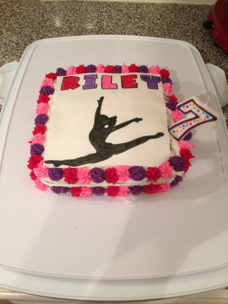 Gymnastic Cake Decorations Uk : 25+ Best Ideas about Gymnastics Birthday Cakes on ...