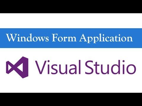 Windows Form Application Tutorial in Urdu/Hindi Language