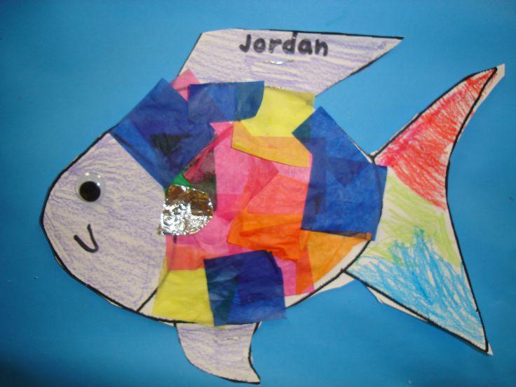 Lots Of Ocean Theme Goodies Rainbow Fish