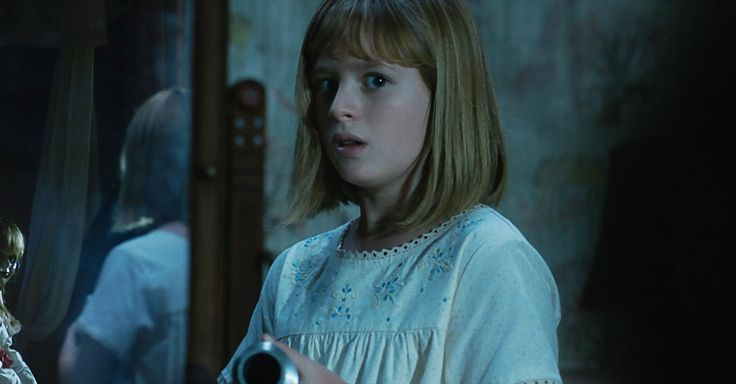 """JEANNETTE CATSOULIS   Photo              Lulu Wilson in """"Annabelle: Creation.""""                                      Credit             Warner Bros. Pictures                      """"Annabelle: Creation"""" is the third cinematic outing for the demon-hosting doll of the title, after a guest spot on... - #Annabelle, #Childs, #Creation, #Movies, #Orphans, #Review"""