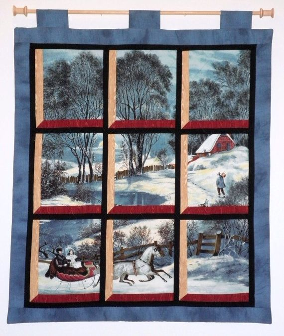 159 Best Attic Window Quilts Images On Pinterest Panel