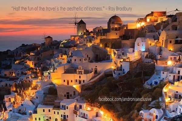 """Half the fun of the travel is the aesthetic of lostness"" -Ray Radbury"