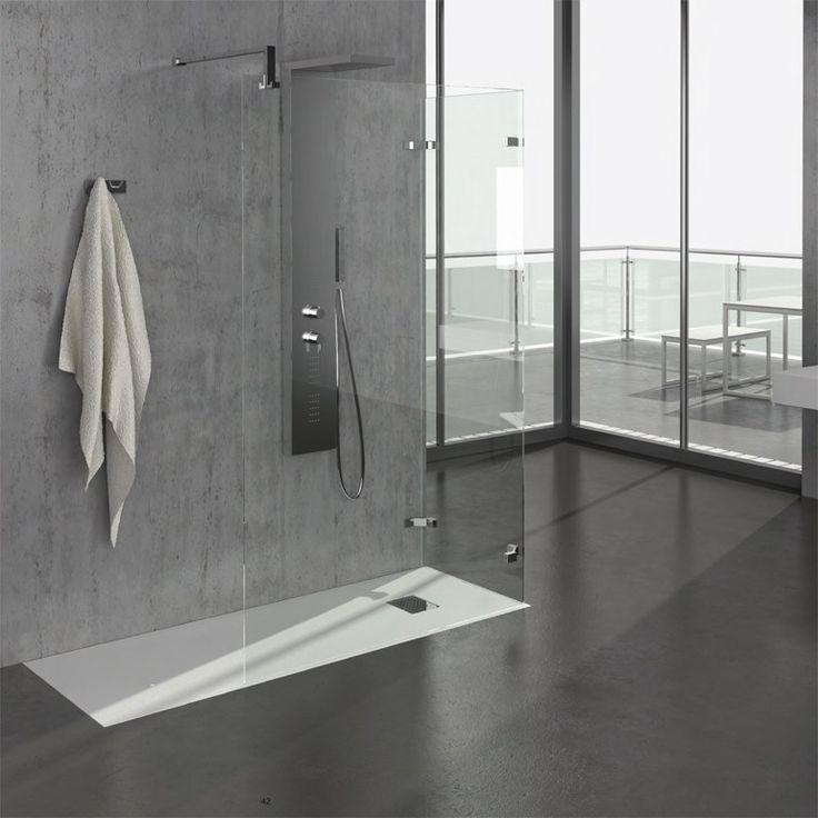 Piatto doccia modulare rettangolare ARDESIA Collezione GRANDFORM SHOWER by GRANDFORM