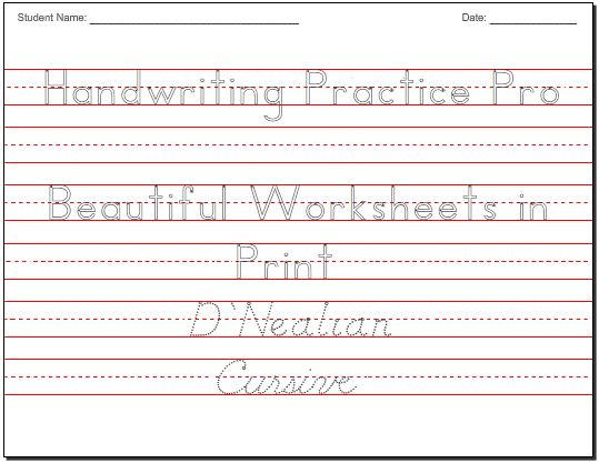 25+ best ideas about Writing practice on Pinterest | Handwriting ...