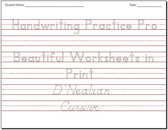 ... Practice Worksheets | School stuff second grade | Pintere