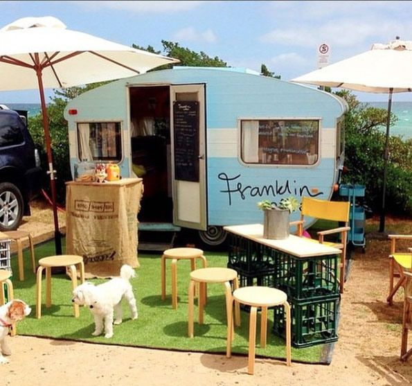 dog-friendly Franklin Coffee, Mornington Peninsula, Victoria, Australia