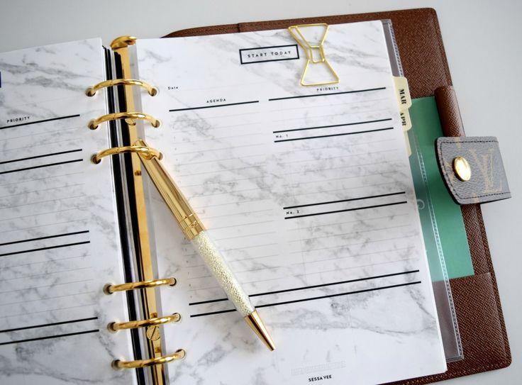 Louis Vuitton GM Agenda - The Bling Girl Diaries