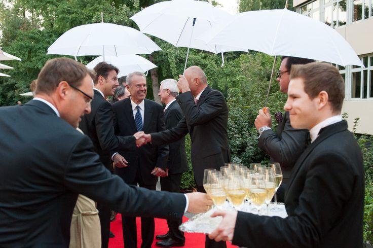 Begrüßung der Gäste   Festliche Abendveranstaltung 175 Jahre Erismann-Tapeten