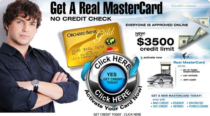 Build credit and improve your credit score today.  offers the best credit card for people with bad credit problems     and people with no credit history to get an instant approval credit card online...without a credit check. Give your credit a boost     and get a real credit card today.