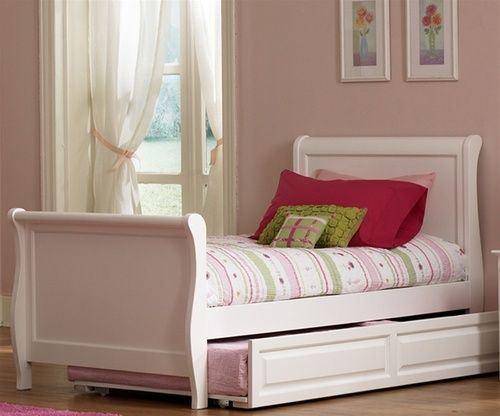 Buy Atlantic Furniture Windsor Sleigh Trundle Beds And Kids Bedroom Furniture Atlantic Furniture Sleigh Trundle White Sleigh Bed Zebra Room Wood Sleigh Bed