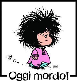 Auguri Mafalda, sembro io quando mi lavo i capelli
