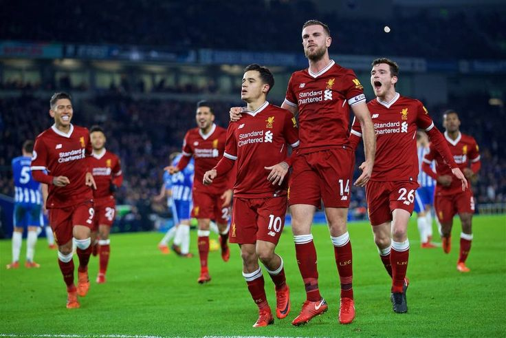 Brighton 1-5 Liverpool: Firmino and Coutinho at the double for brilliant Reds