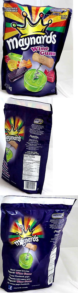 Gummi Candy 79627: Maynards Wine Gums - 1Kg 35.27Oz - 4 Pack -> BUY IT NOW ONLY: $73.95 on eBay!
