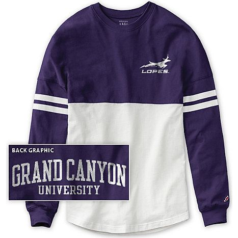 Grand Canyon University Women's Color Block RaRa Long Sleeve T-Shirt | Grand Canyon University