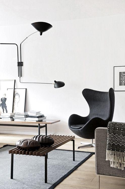 Black Egg chair