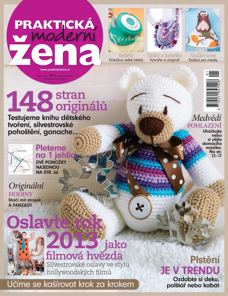 Zimní dvojčíslo Praktické ženy na stáncích | New winter's double issue of Prakticka zena is now on stands