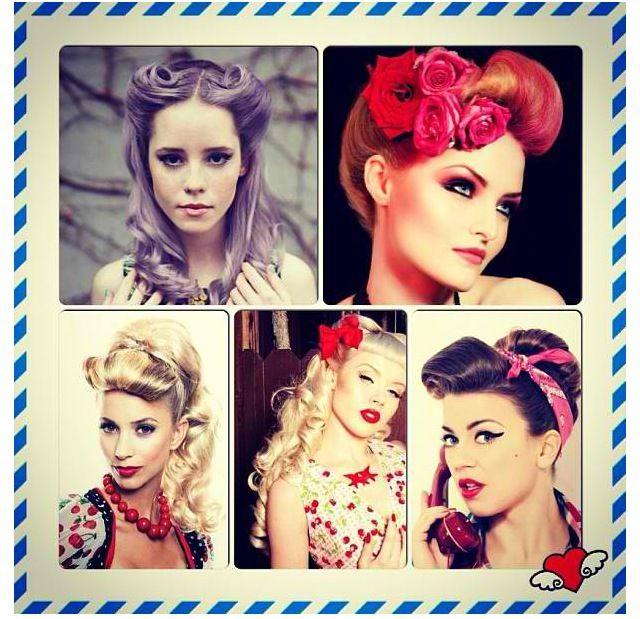 Vintage hairstyles ❤