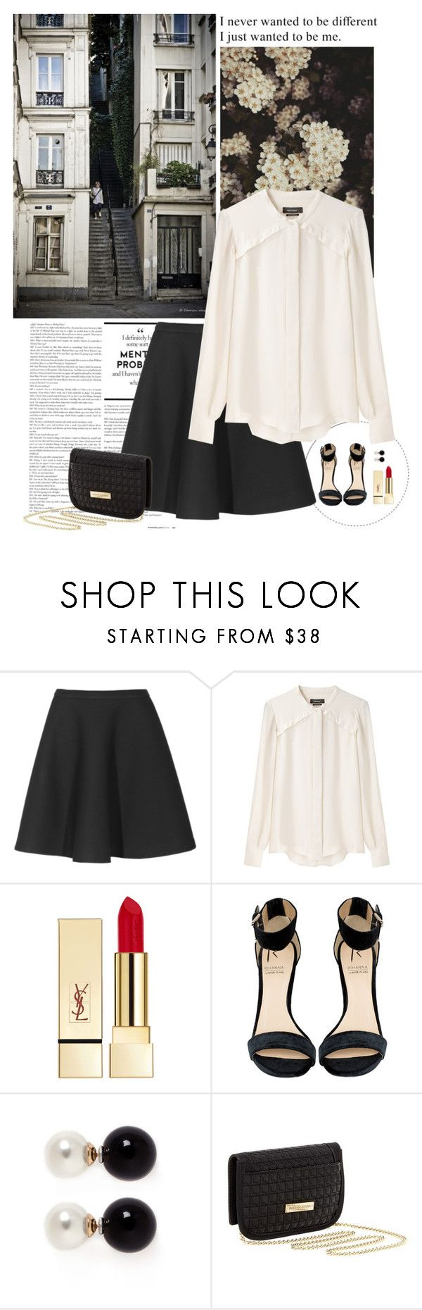 """""""I Just Wanted To Be Me..."""" by allweknowisfalling ❤ liked on Polyvore featuring Neil Barrett, Isabel Marant, PUR, Rihanna For River Island, Kenneth Jay Lane and Danielle Nicole"""