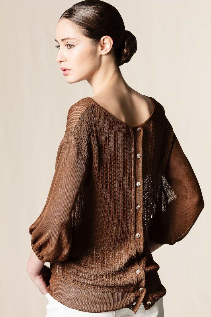 Pull reversibile marrone. #robertascarpa #perfectpull