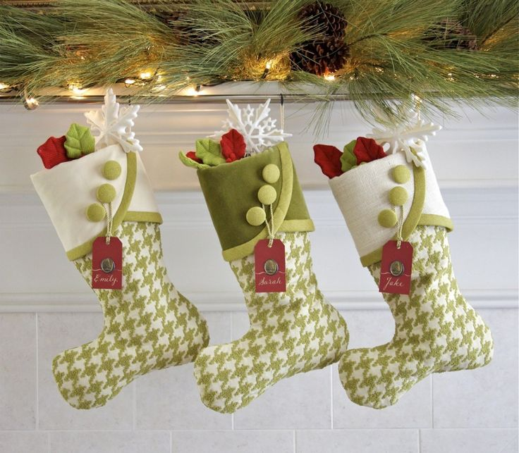 Reduced Christmas Decorations: 248 Best Christmas Stockings & Mittens Images On Pinterest
