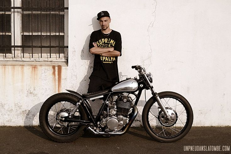 Yamaha SR 500 custom : good job Purple Pantera !