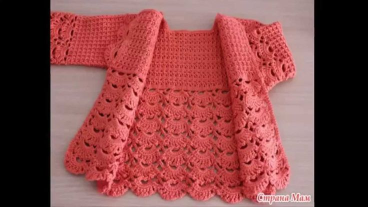 Crochet is simple and easy jacket for girls step by step