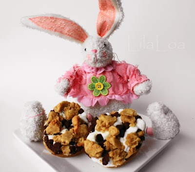 Easter Cookies/S'mores Eggs