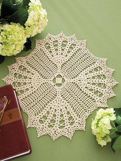 Crochet - Doily Patterns - Assorted Patterns - Inspirational Doily