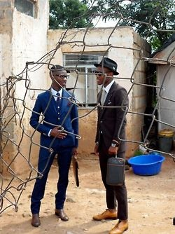 South Africa street style, Through the wire, African style, mens fashion