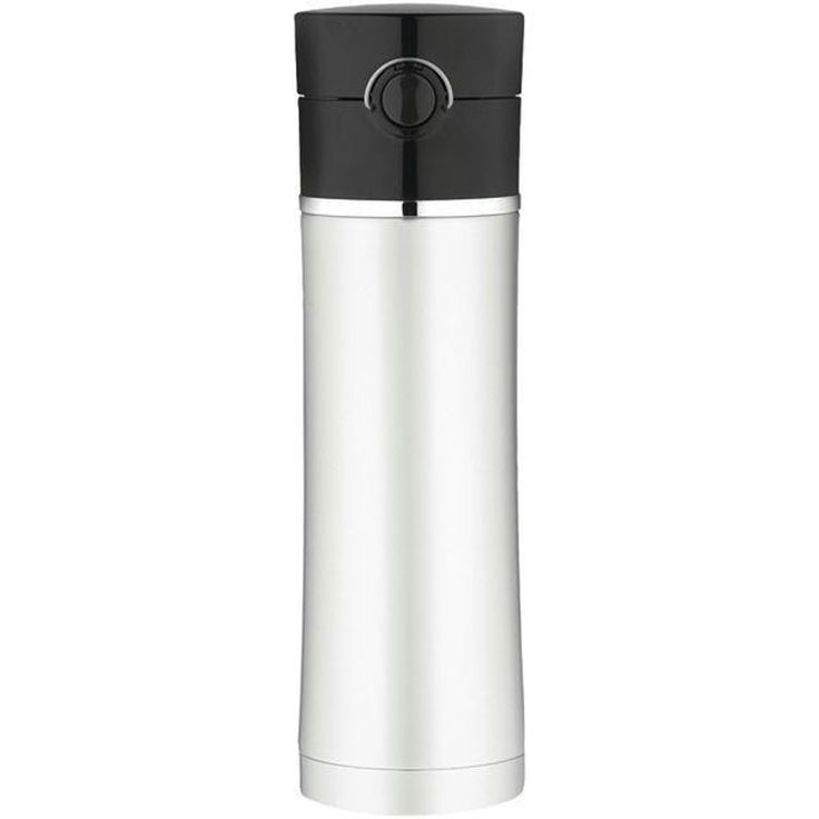 Thermos Sipp Vacuum Insulated Drink Bottle - 16 oz. - Stainless Steel/Black