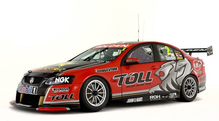 Holden Special Vehicles Commodore (GM-Australia) modified for racing in Australian V8 Supercars series...