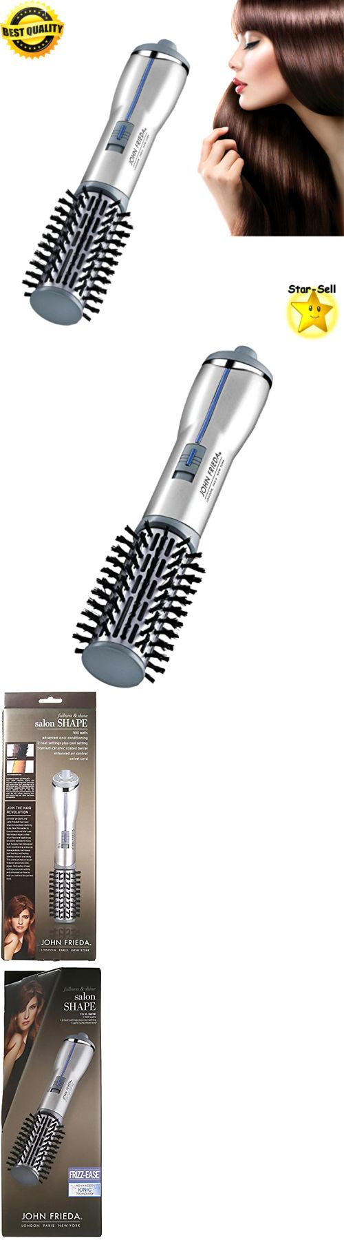 Brushes and Combs: Hot Air Brush Salon Hair Dryer Blower Styling Curling Hot Air Curler Heat Brush -> BUY IT NOW ONLY: $33.15 on eBay!