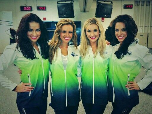 Seattle Seahawks Seagals! I seriously love these jackets