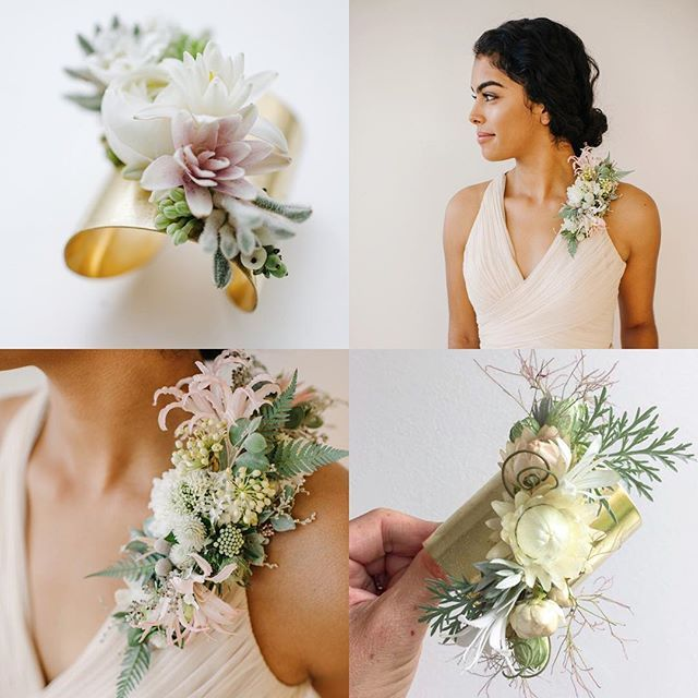Blush And White Corsages White Corsage Wedding Corsage