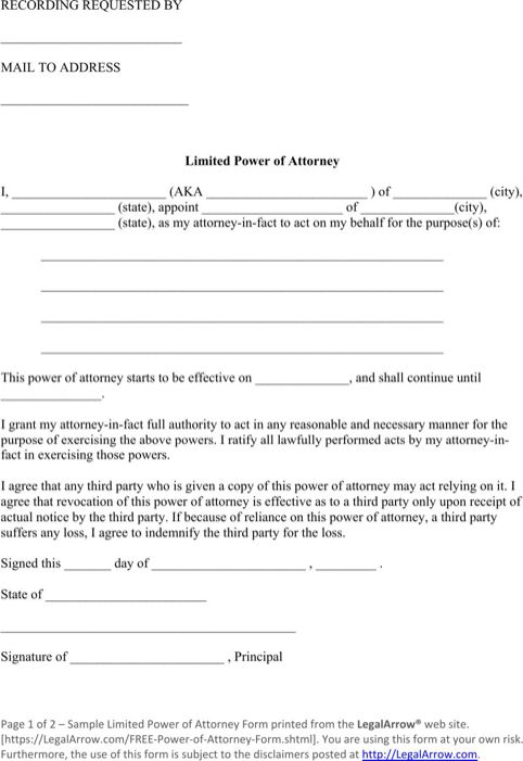 Best 20+ Power Of Attorney Form Ideas On Pinterest | Power Of