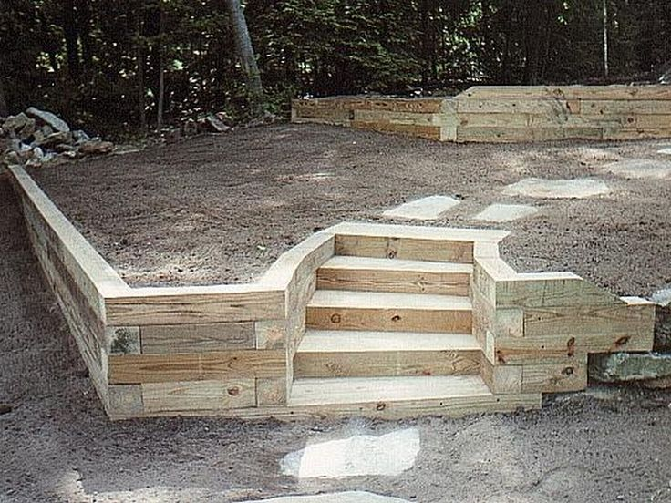 25 best ideas about Landscape timbers on Pinterest