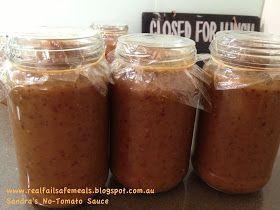 REAL MEALS: Sandra's No-Tomato Sauce