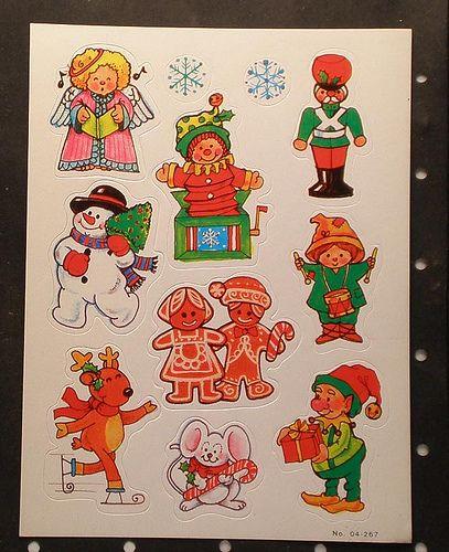 Vintage 80s stickers