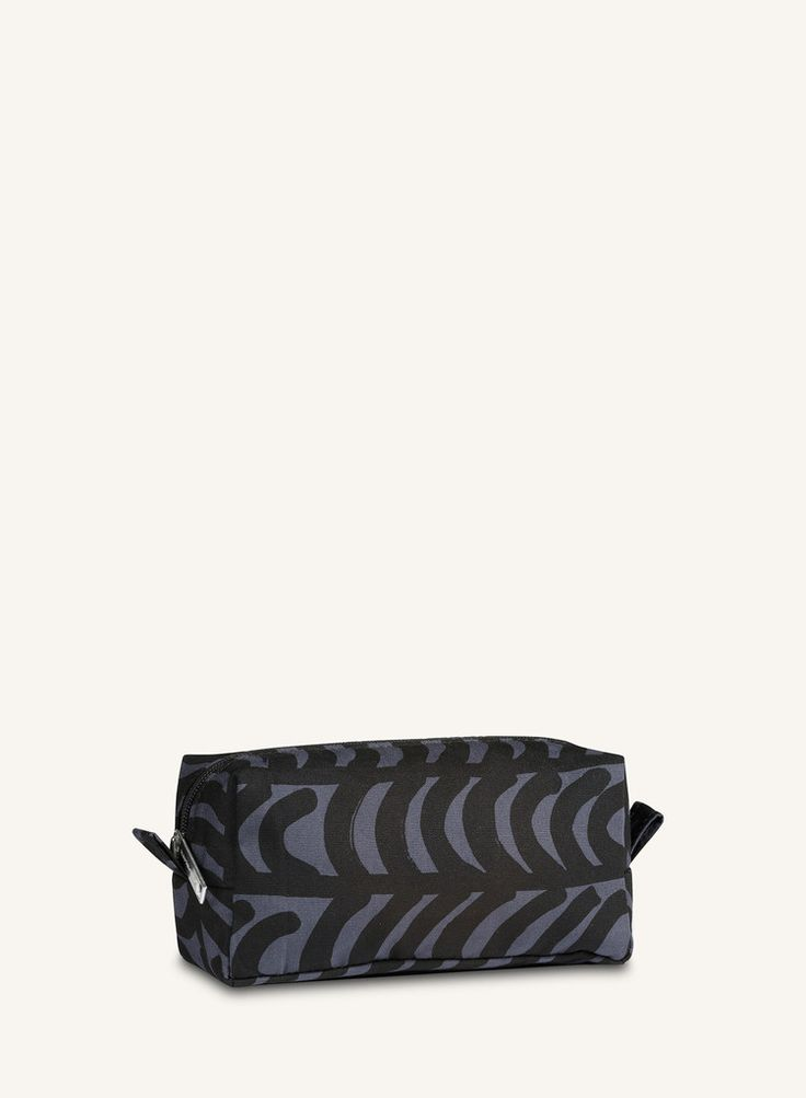 TAIMI RAUTASANKY COSMETIC BAG DARK GREY/BLACK