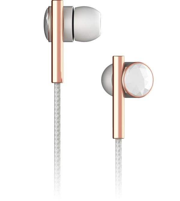 Linea N°2 - Faceted Ceramic & Rose Gold - Mic-3 - View