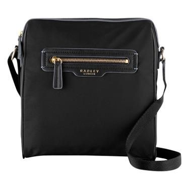 Buy Radley Mercer Street Crossbody Bag, Black | John Lewis