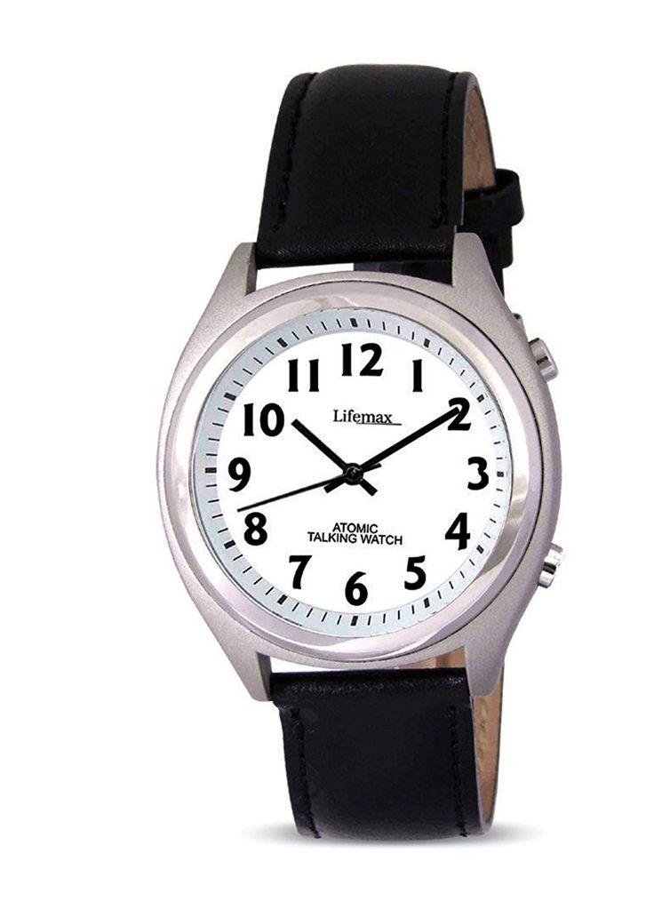Lifemax/RNIB Men's Talking Atomic Watch 407 with Strap