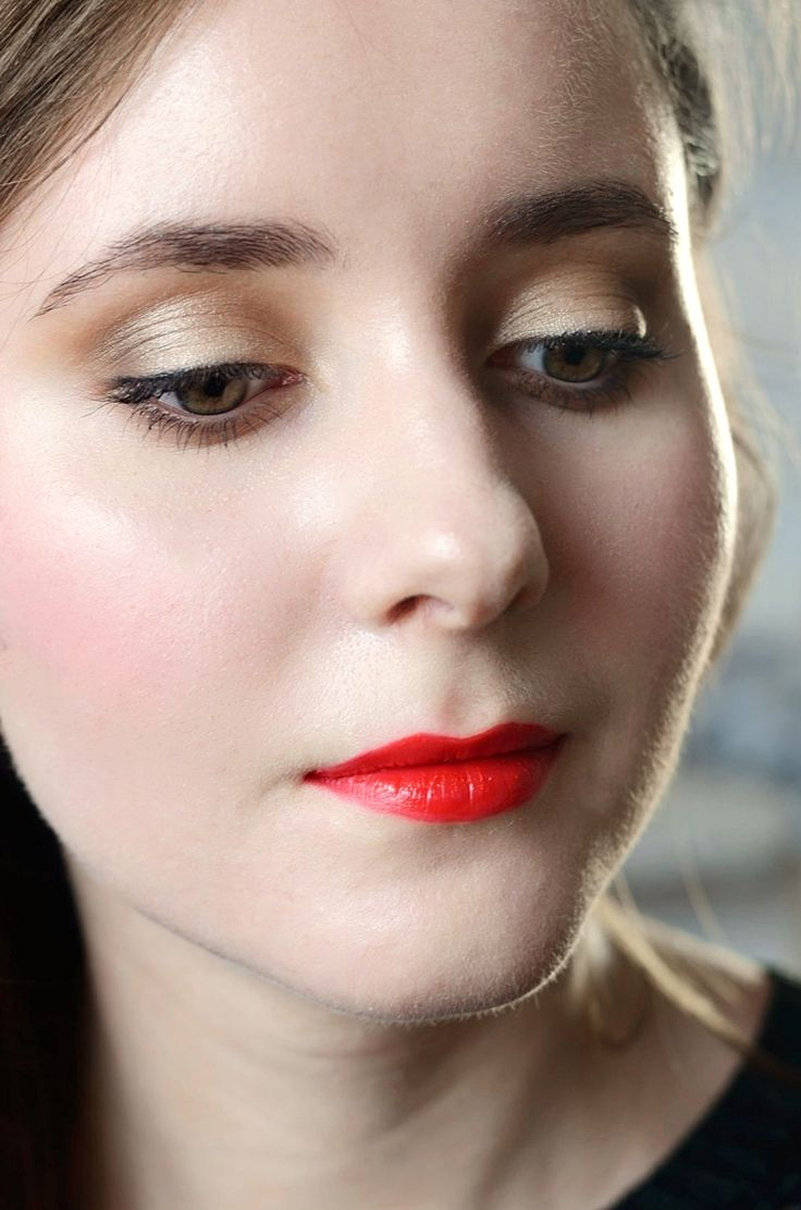Makijaż świąteczny krok po kroku