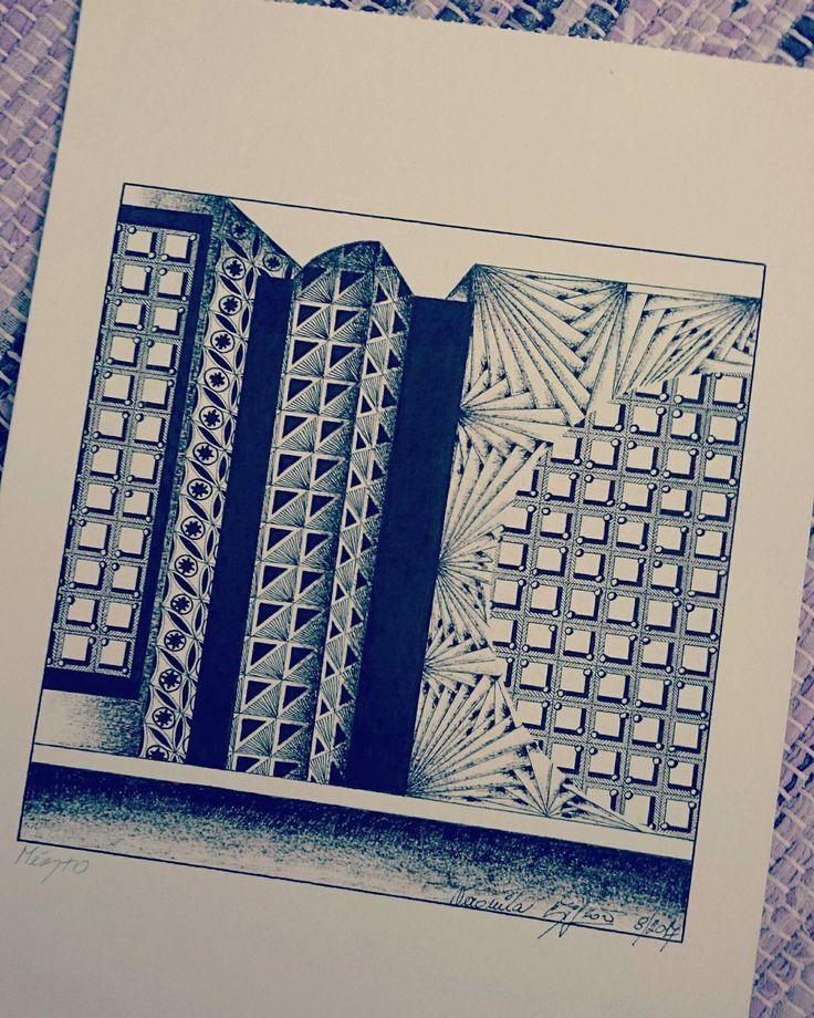 """20 To se mi líbí, 1 komentářů – Veronika Šiflová (@veja.beruska) na Instagramu: """"Město…"""""""