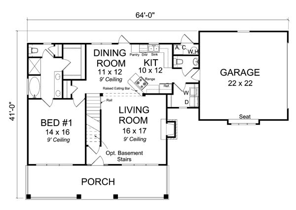 310 best images about house plans on pinterest house for Familyhomeplans 75137