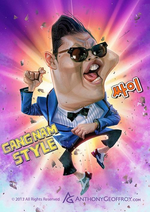 Gangnam Style by AnthonyGeoffroy.deviantart.com