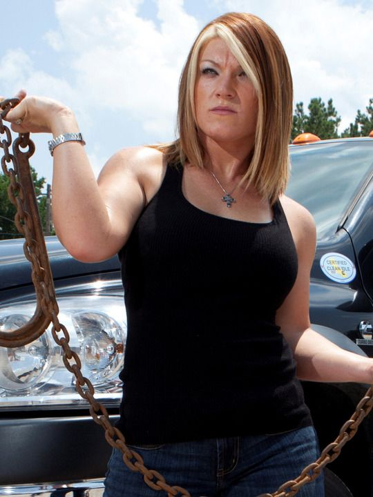 Amy Shirley.. Lizard Lick Towing