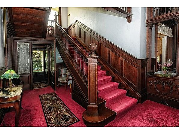 Amazing Beautiful Victorian Staircase