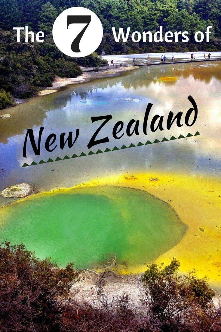 The 7 Wonders of New Zealand!: