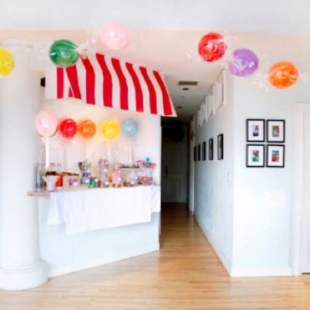 Kids candy party